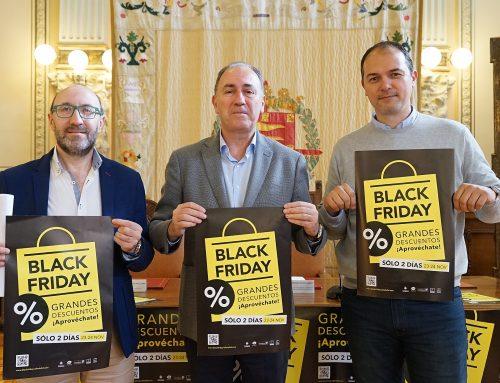 El comercio de Valladolid se une el viernes y sábado al Black Friday en una iniciativa de AVADECO y FECOSVA con apoyo del Ayuntamiento