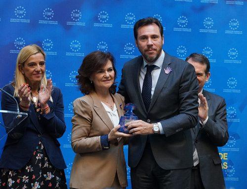 El Ayuntamiento premiado por su Plan de Inserción Laboral destinado a víctimas de violencia de género