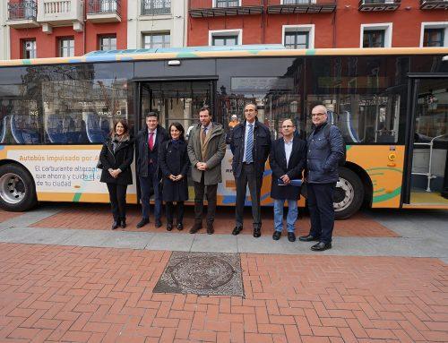 """Valladolid, pionera en el uso de autobuses """"híbridos"""" de Autogas"""