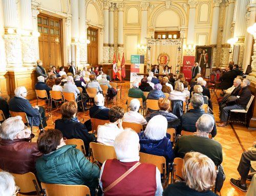 El Ayuntamiento de Valladolid reconoce la labor de los voluntarios de los Centros de Personas Mayores