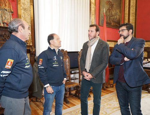El Ayuntamiento apoya la presencia del vallisoletano Roberto Carranza en el Rally Dakar 2019