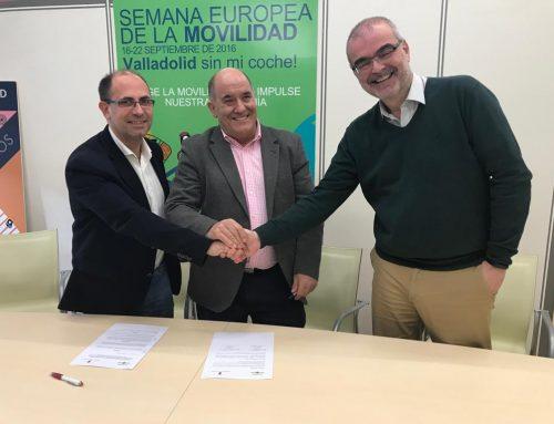 AUVASA y La Cistérniga firman un nuevo Convenio para la prestación del servicio de transporte público colectivo