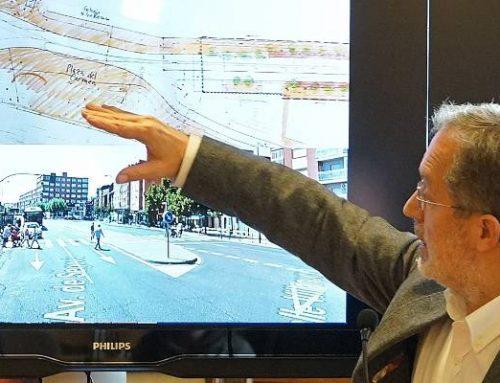 El Ayuntamiento invierte casi dos millones en la reurbanización de la Avenida de Segovia