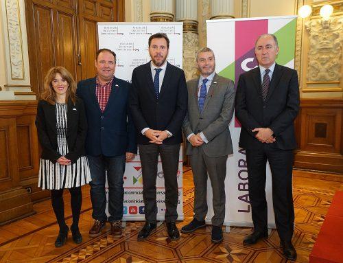 El Ayuntamiento de Valladolid acoge la presentación de la V Edición de los Premios Iniciativas Empresariales