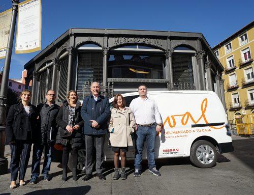 El Mercado del Val inaugura el reparto a domicilio para acercar su producto a Valladolid y al alfoz