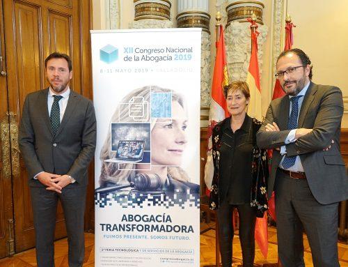 Más de 2.000 abogados y 250 ponentes convertirán Valladolid en la capital de la 'Abogacía transformadora' el próximo mayo