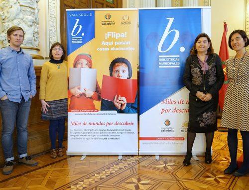 Las Bibliotecas Municipales de Valladolid amplían su horario de apertura al público y renuevan su imagen