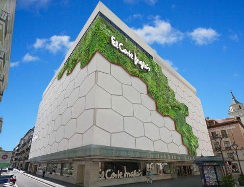 El Ayuntamiento y El Corte Inglés colaborarán en la instalación de la primera fachada vegetal de Valladolid