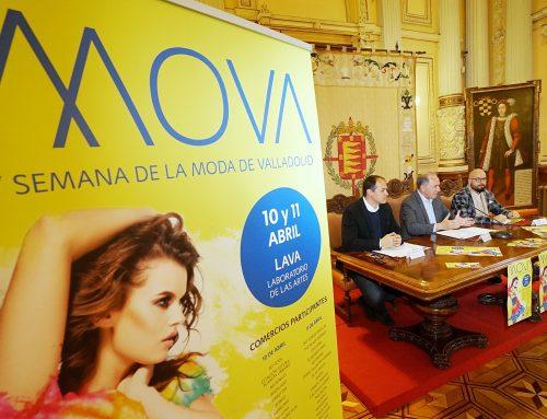 El Ayuntamiento y AVADECO presentan la V Semana de la Moda de Valladolid, que se celebrará los días 10 y 11 de abril en el LAVA