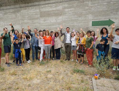 """""""Aquí pintamos todos: el Muro de la Esperanza"""""""