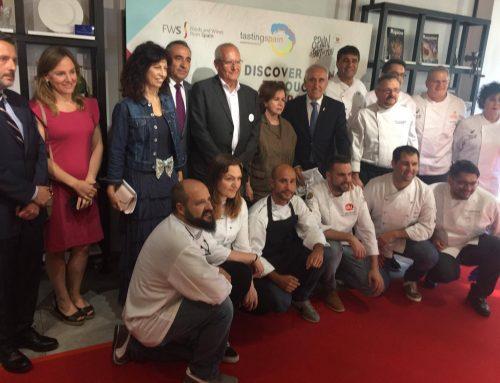 Valladolid, presente con su gastronomía y sus vinos en Bruselas en la celebración del Día Mundial de la Tapa
