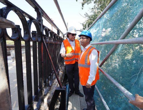 La intervención en la barandilla del Puente Mayor tiene un presupuesto de 120.000 euros