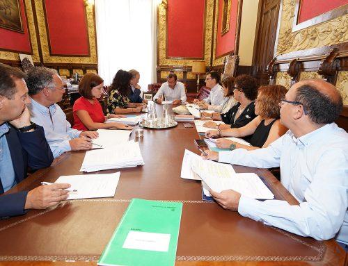 Acuerdos adoptados por la Junta de Gobierno de Valladolid en su reunión de hoy, 28 de agosto