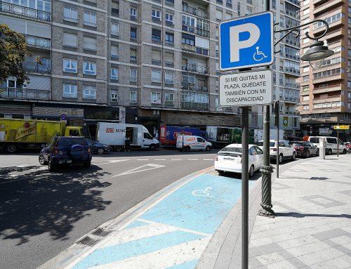 El Ayuntamiento señaliza 28 nuevas Plazas de Aparcamiento para Personas con Movilidad Reducida