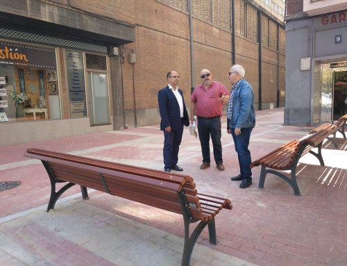 El Ayuntamiento concluye la peatonalización de un tramo de la calle Recoletas