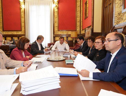 Acuerdos adoptados por la Junta de Gobierno de Valladolid en su reunión de hoy, 25 septiembre