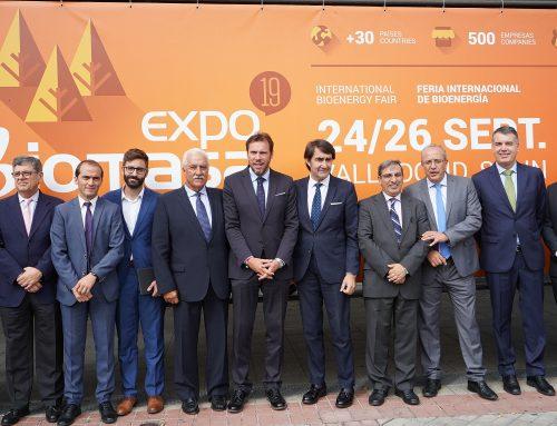 Expobiomasa 2019 abre sus puertas en la Feria de Valladolid
