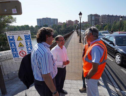 El Ayuntamiento inicia las obras de mejora de tres de los túneles peatonales, en Arco de Ladrillo, Labradores y San Isidro