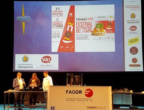 Óscar Puente reivindica la calidad de las tapas de Valladolid en San Sebastián Gastronomika