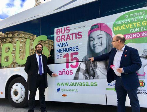 AUVASA pone en marcha la campaña para la ampliación de gratuidad del Bono Infantil a los menores de 15 años