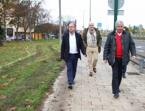 El Ayuntamiento inicia las obras de dos tramos de carril bici segregado con un presupuesto de 105.810 euros