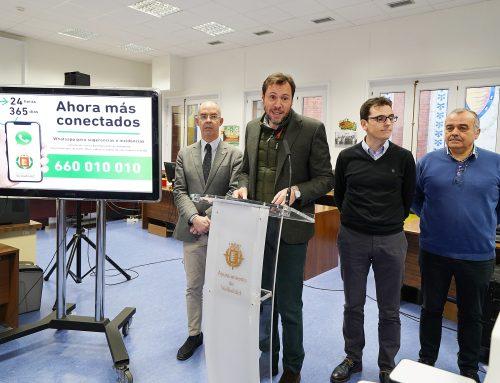 El Ayuntamiento pone en marcha el Whatsapp para que los ciudadanos comuniquen sugerencias o incidencias