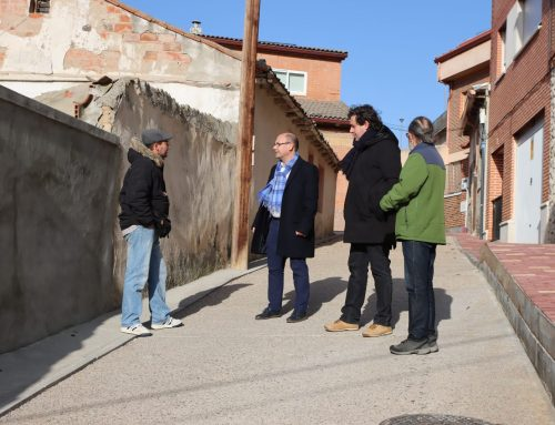 Finaliza la obra de estabilización de la ladera de calle Barco de San Vicente en la Cuesta de la Maruquesa
