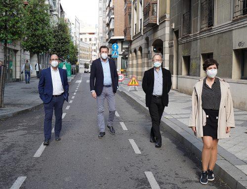 Valladolid apuesta por el peatón, la bicicleta y el transporte público