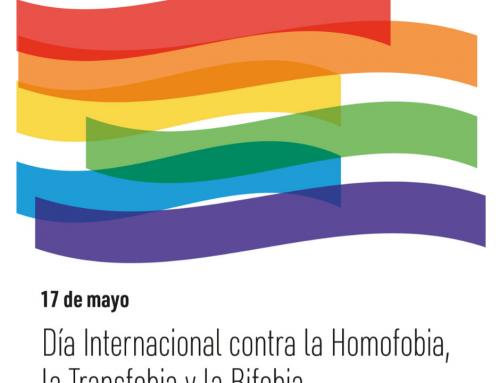 El Ayuntamiento celebra el Día Internacional contra la Homofobia, la Transfobia y la Bifobia este domingo, 17 de mayo