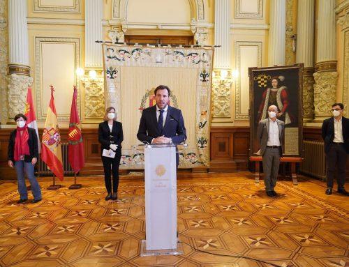 PSOE, PP, CS y VTLP acuerdan una moción conjunta para la recuperación económica y social de Valladolid