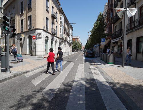 Las peatonalizaciones impulsadas en Valladolid, avaladas por un estudio técnico