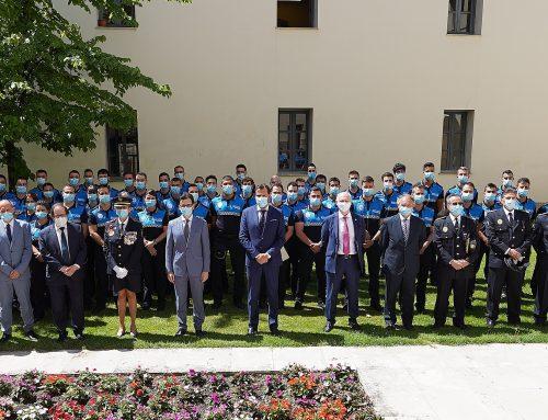 La Policía Municipal de Valladolid se rejuvenece con la incorporación de 56 agentes