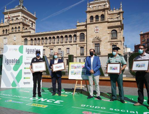 El Ayuntamiento colabora con la ONCE en la difusión de los 22 millones de cupones de la campaña 'Responsabilidad de todos'