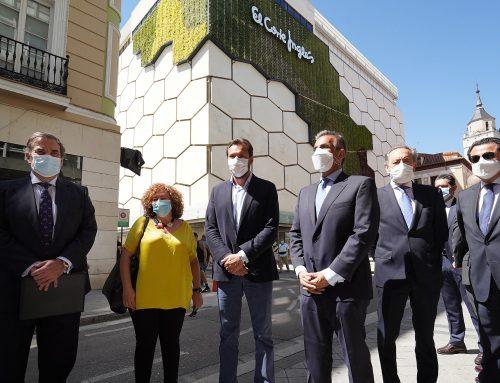 La primera fachada verde vegetal de Valladolid
