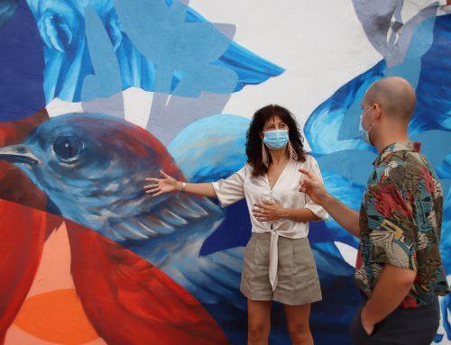 Nuevas obras se suman al catálogo de arte urbano de la ciudad