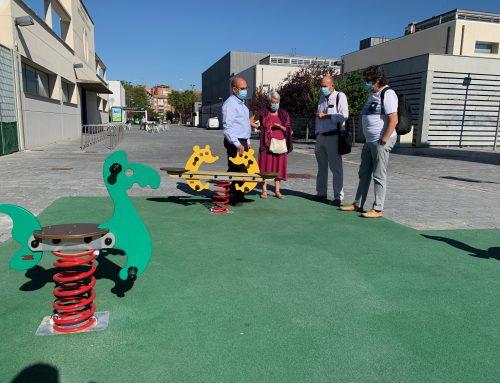 Finaliza la obra de instalación de juegos infantiles y elementos biosaludables detrás del LAVA