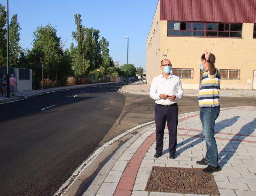 Inminente señalización de ciclocarril en el Camino del Cabildo