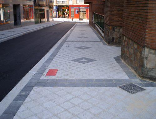 Finaliza la reurbanización de la calle San Diego con una inversión de más de 144.000 euros