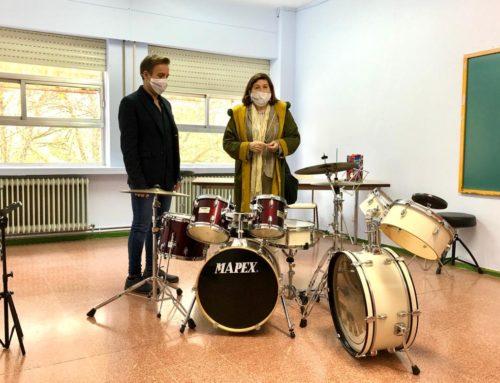 Ampliadas las instalaciones de la Escuela de Música Municipal para garantizar la seguridad de sus más 1.300 alumnos