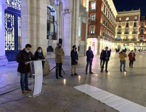 Valladolid conmemora el Día Mundial de los Hombres contra la violencia de género