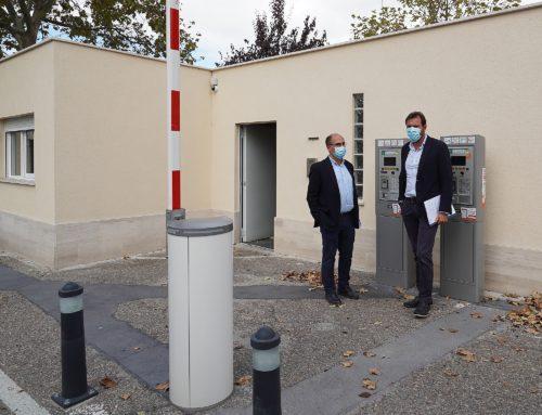 El Ayuntamiento invierte 150.000 euros en la mejora del aparcamiento de  Feria de Muestras para potenciar su uso disuasorio