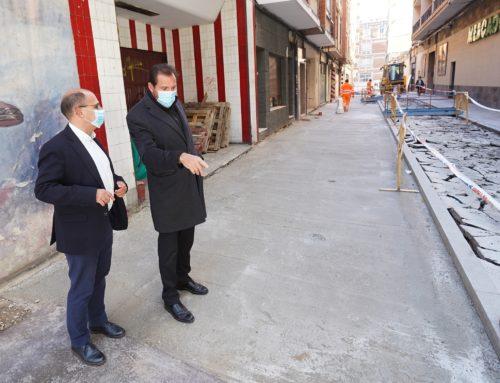 Comienza la reurbanización y peatonalización de la calle Recoletas reclamada por los vecinos