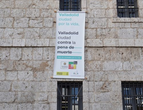 Valladolid se suma a las dos mil ciudades que en todo el mundo reclaman la abolición de la pena de muerte