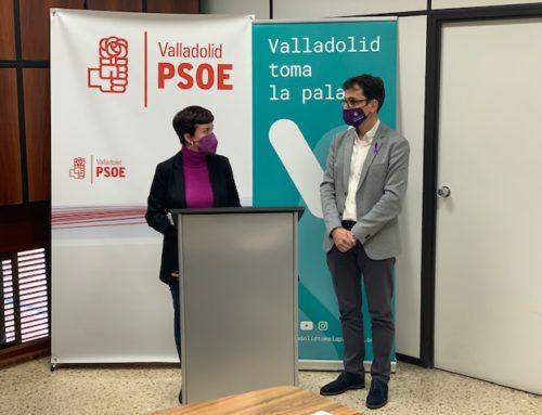 PSOE y Toma la Palabra exigirán a la Junta en el próximo pleno que cumpla sus compromisos con Valladolid