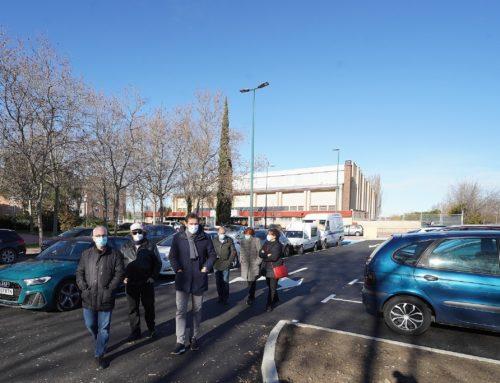 Nuevo aparcamiento de 43 plazas en el barrio de La Rondilla