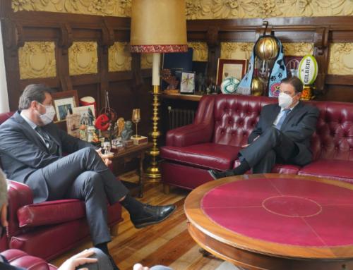 El ministro de Agricultura subraya la apuesta por Valladolid en su visita a Mercaolid