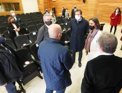 """La ministra de Industria anuncia el """"apoyo del Gobierno de España al proyecto del Parque Logístico y Agroalimentario de Valladolid"""""""