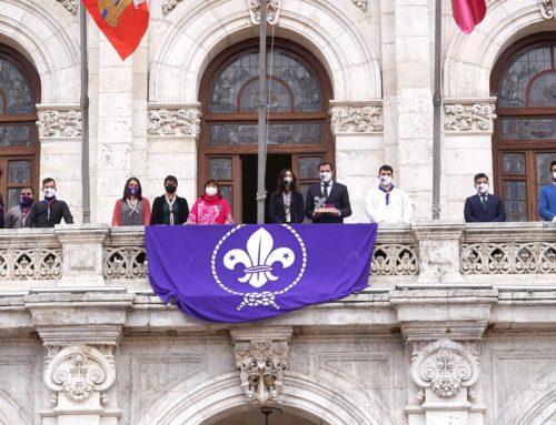 Scouts de España premia al Ayuntamiento de Valladolid por sus 100 años de apoyo