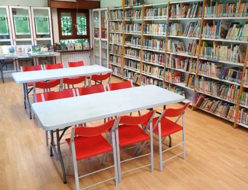Mejores puntos de lectura y nueva página web para las bibliotecas municipales