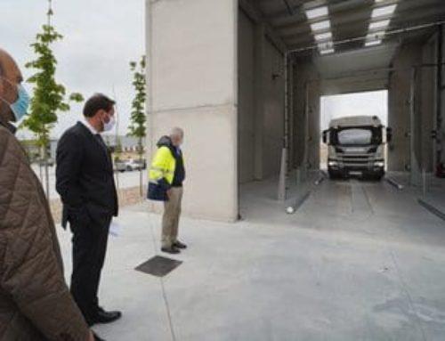 Valladolid estrena las nuevas instalaciones para el lavado de vehículos del Servicio de Limpieza